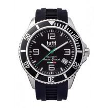 Oceano Grande XL Horloge  zwart
