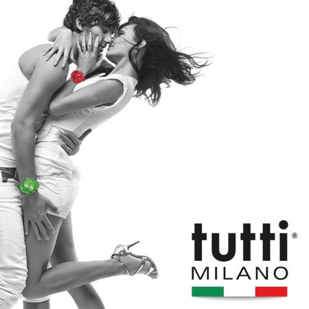 Tutti Milano Oceano Grande XL Horloge  turquoise TMOG001 TU