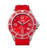 Tutti Milano Oceano Grande XL Horloge  rood TMOG001 RE