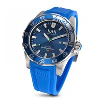Corallo XL Horloge blauw