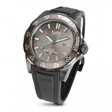 Tutti Milano Corallo XL Horloge taupe TM901 TP
