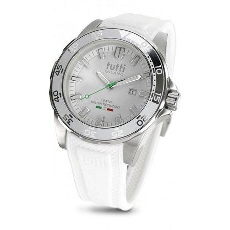 Tutti Milano Corallo XL Horloge wit TM901 WH