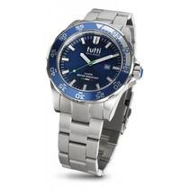 Corallo XL Steel Horloge