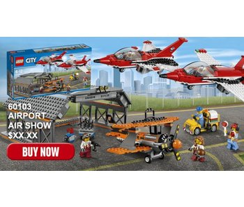 LEGO Spectacle d'aviation de l'aéroport - 60103