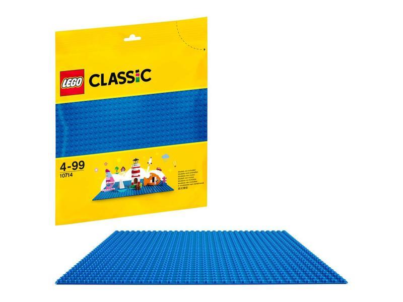 LEGO Plaque de base bleu- 10714