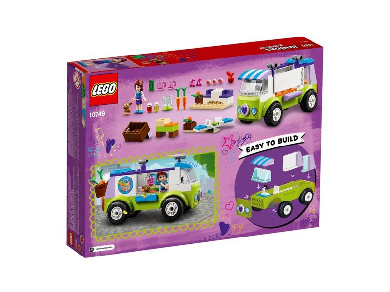 LEGO Le marché des aliments biologiques de Mia -10749