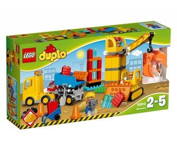 LEGO DUPLO Grand chantier de construction - 10813