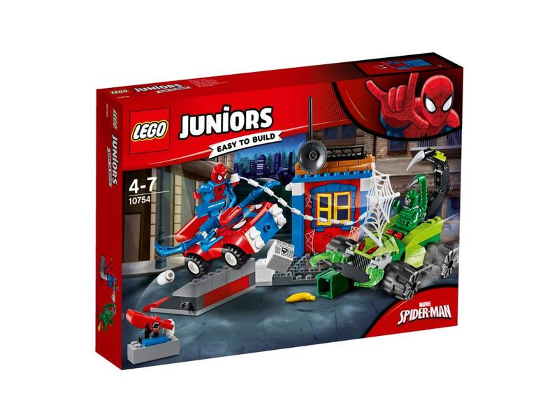 LEGO Spiderman VS Scorpion duel de rue -10754