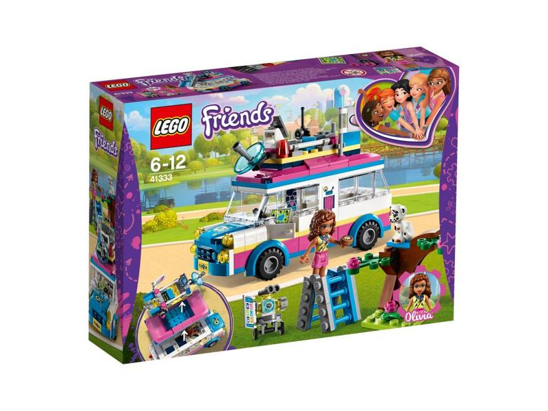 LEGO Le véhicule de mission d'Olivia - 41333