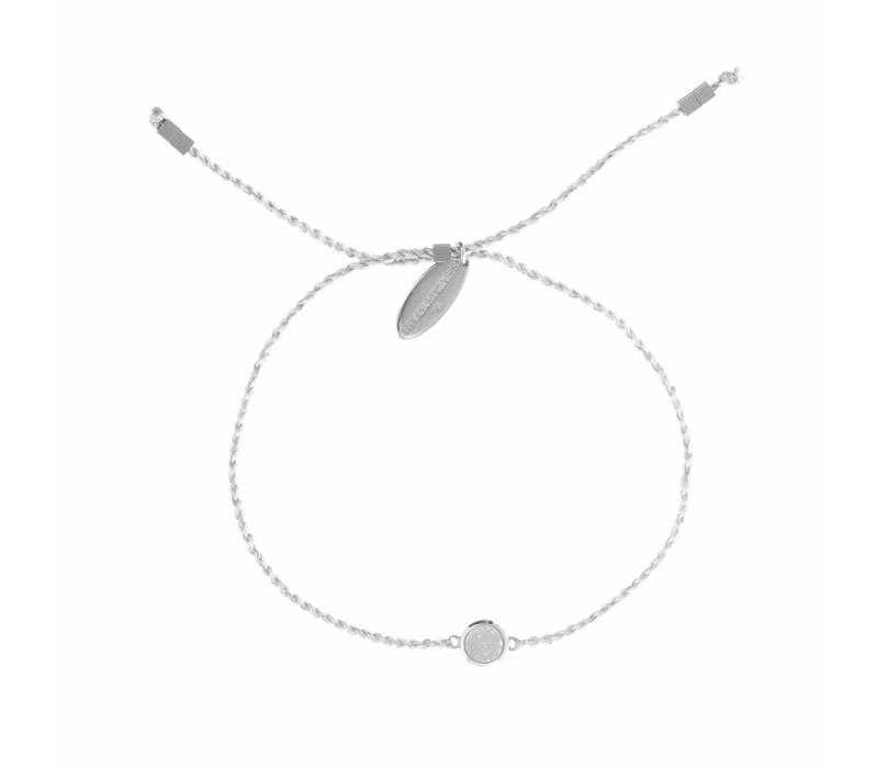 Drusy Bracelet Silver