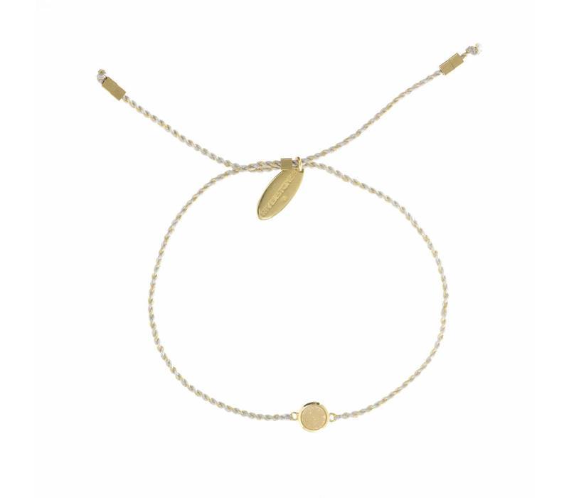 Drusy Bracelet Gold