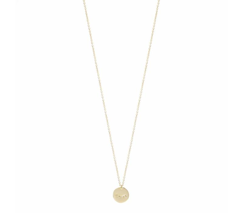 Unwind Necklace Gold