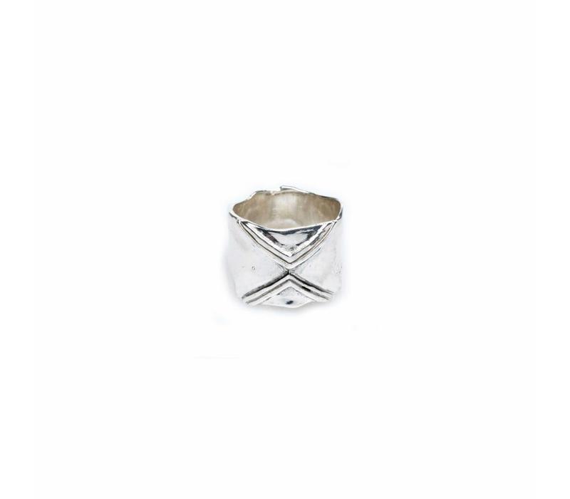Karma Ring Silver