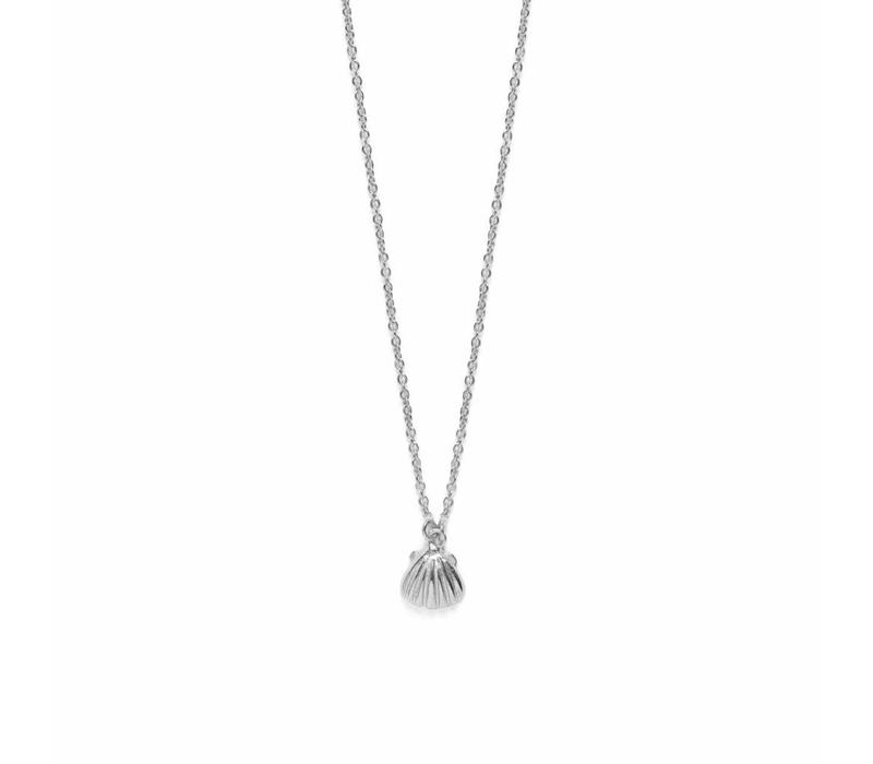 Shell Necklace Silver
