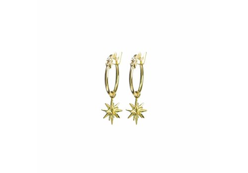 Rise Earrings Gold