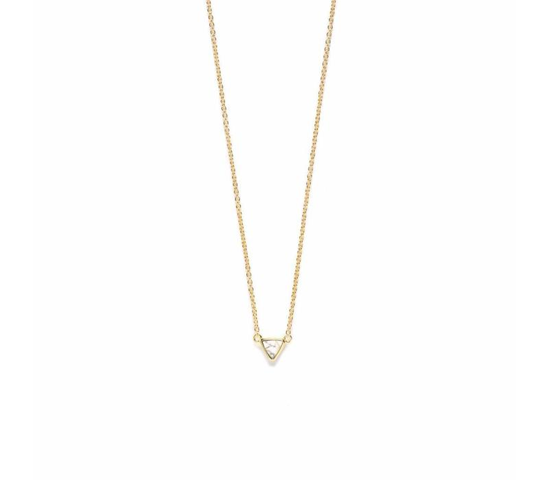Reset Necklace Gold