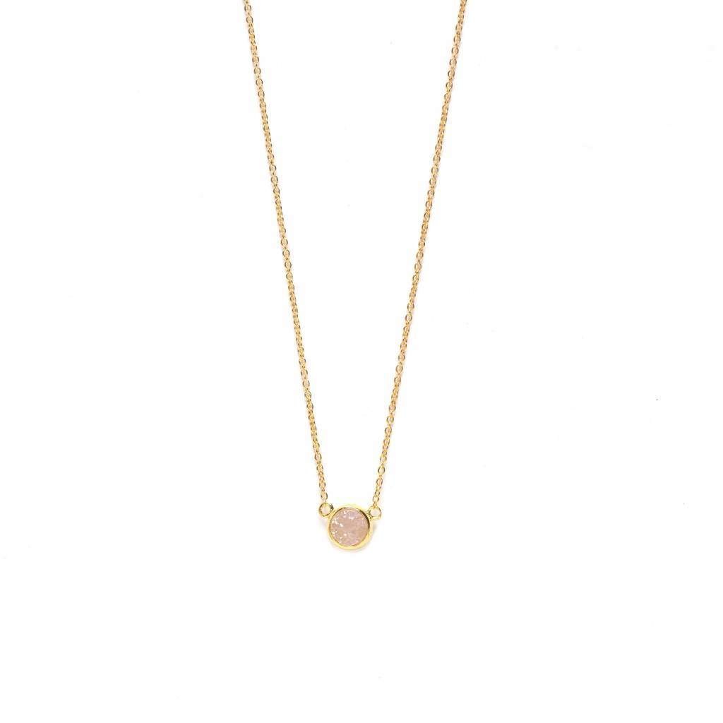 Serenity necklace gold riverstones serenity necklace gold prev aloadofball Image collections