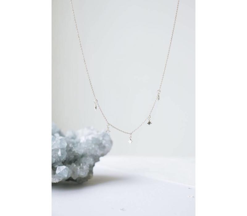 Stellar Necklace Zilver
