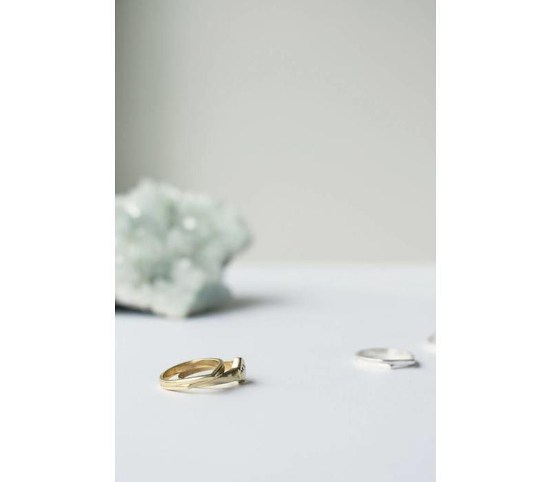 Mountain Ring Gold