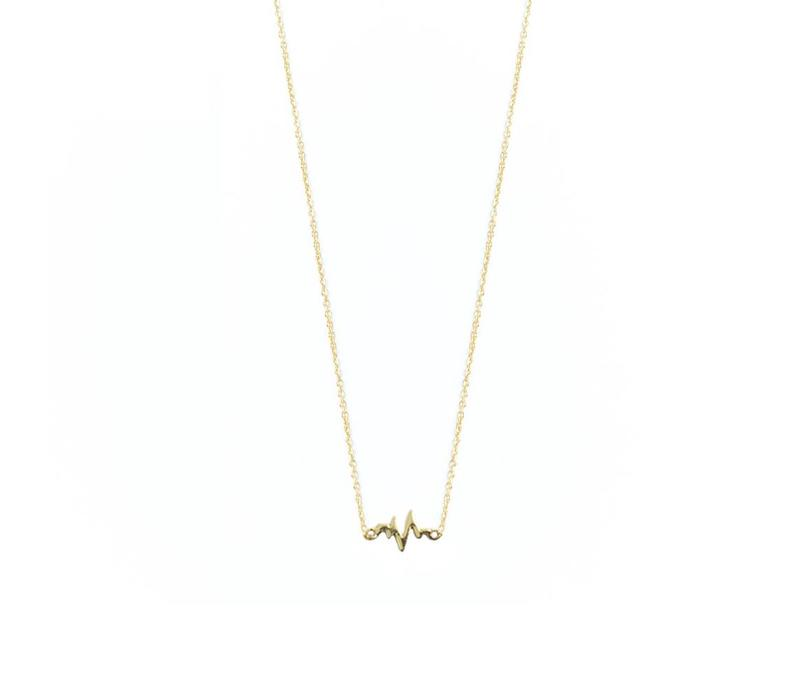Lively Necklace Gold
