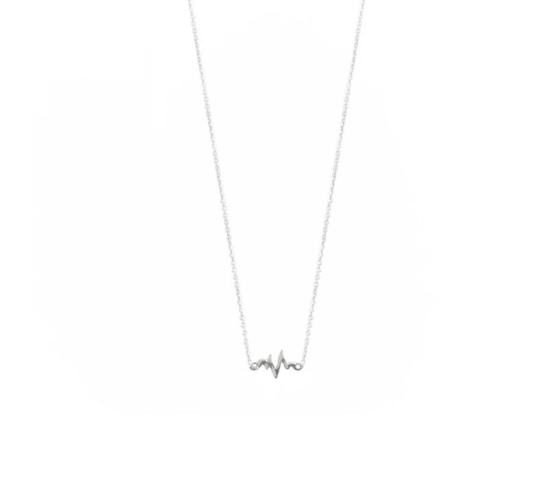 Lively Necklace Silver