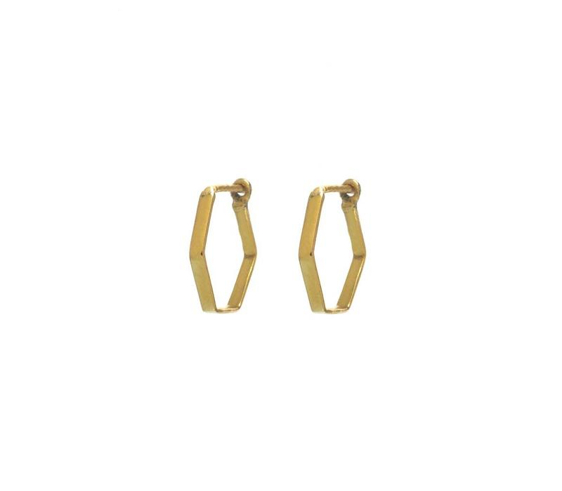 Prisma Hoops Gold