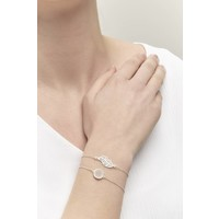 Wander armband Zilver