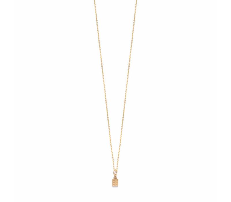 The Jordaan Necklace 18krt Gold