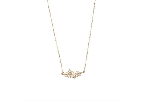 Radiance Necklace 18krt Gold