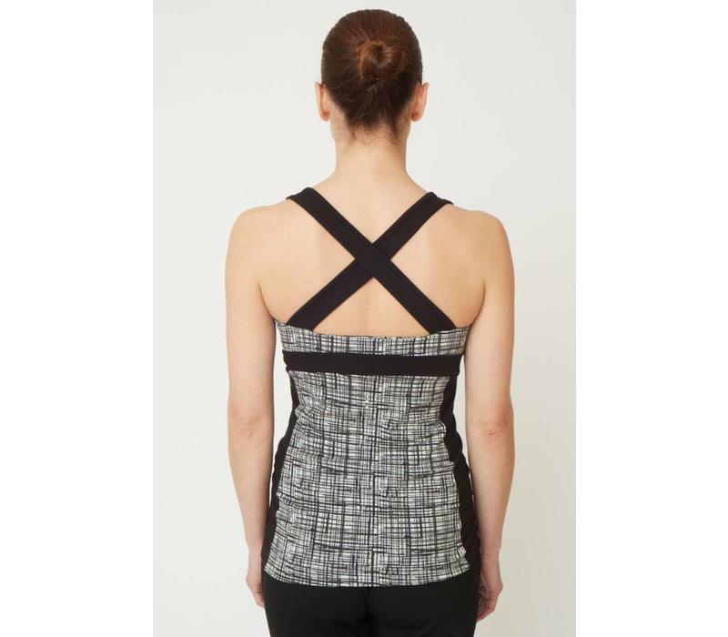Asquith Shape Me Vest - 50's Vintage Print