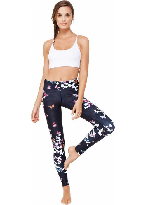 Dharma Bums Dharma Bums Yoga Legging - Butterfly