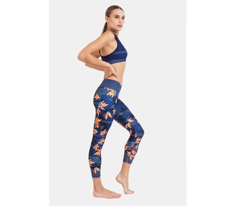 Dharma Bums 7/8 Yoga Legging - Lost In Paradise
