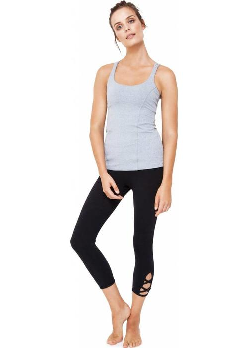 Dharma Bums Dharma Bums Prana Flow Sports Tank - Cloud