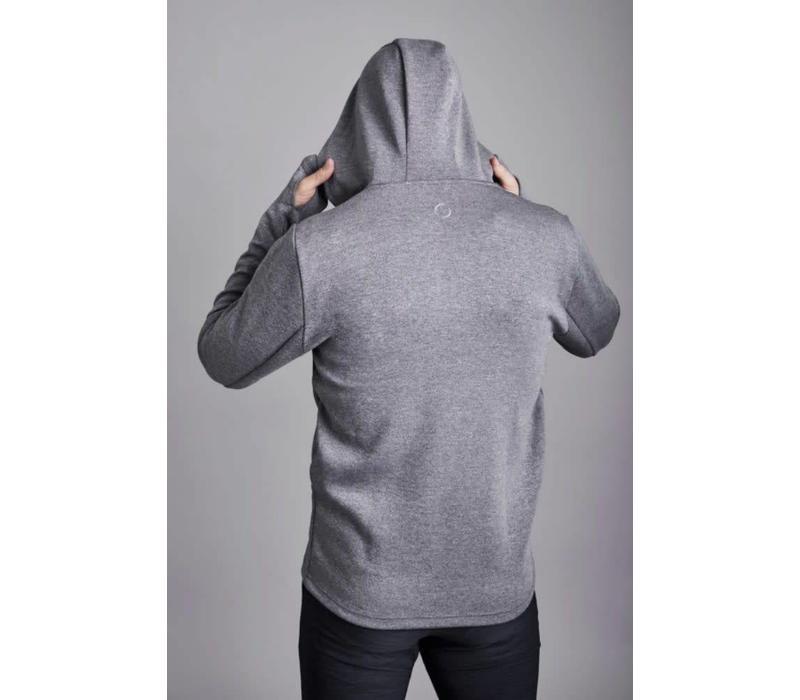Ohmme 8 Limb Yoga Hoodie - Grey