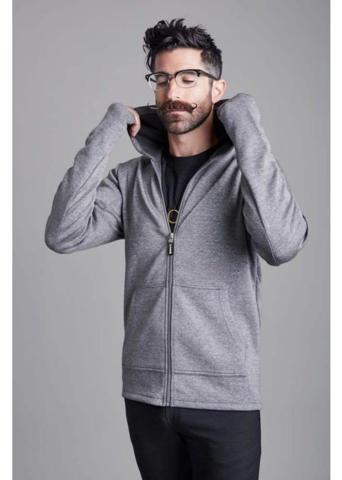 Ohmme Ohmme 8 Limb Yoga Hoodie - Grey
