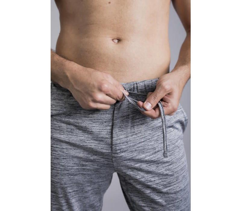 Ohmme Dharma Yoga Pants - Heather Grey