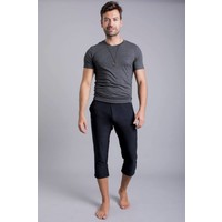 Ohmme Namoustache Yoga Pants - Black