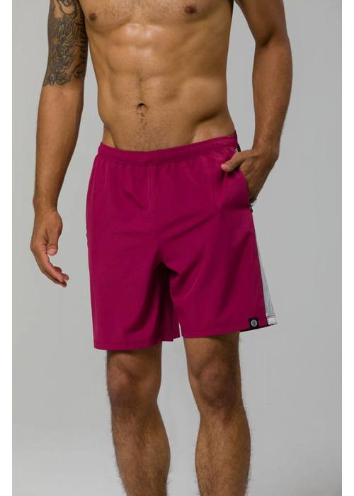 "Onzie Onzie 7 ""Core Short - Crimson / Wolf Gray"