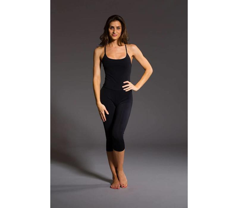 Onzie Long Leotard - Black