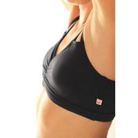 Shakti Activewear Crescent Top - Black