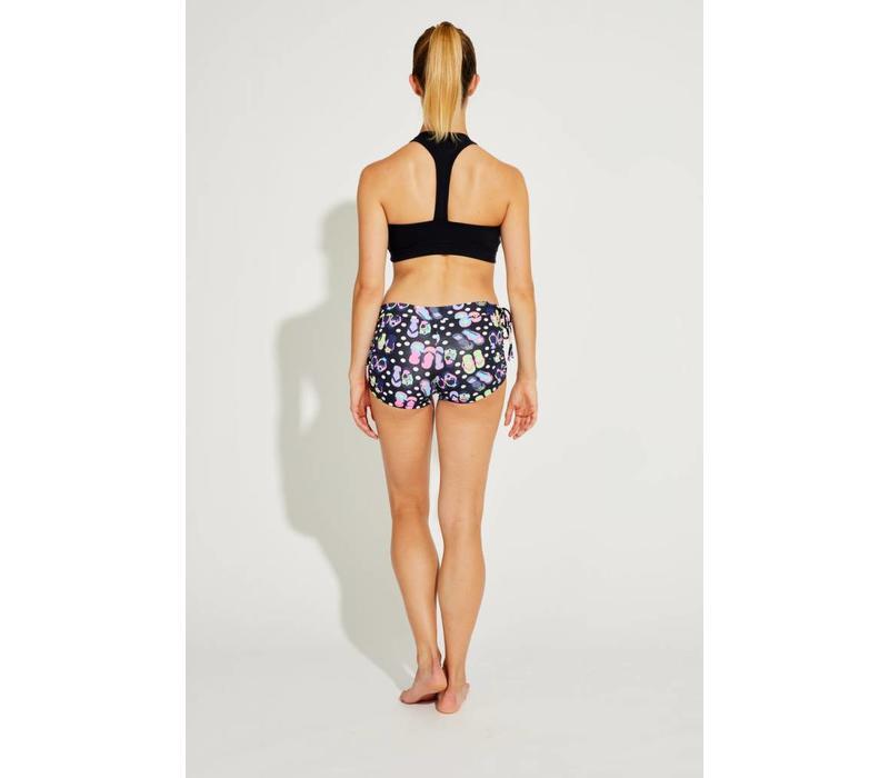 Shakti Activewear Y-Back Top - Black