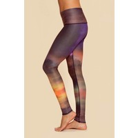 Teeki Yoga Legging - Clouds