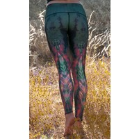 Teeki Yoga Legging - Eagle Feather