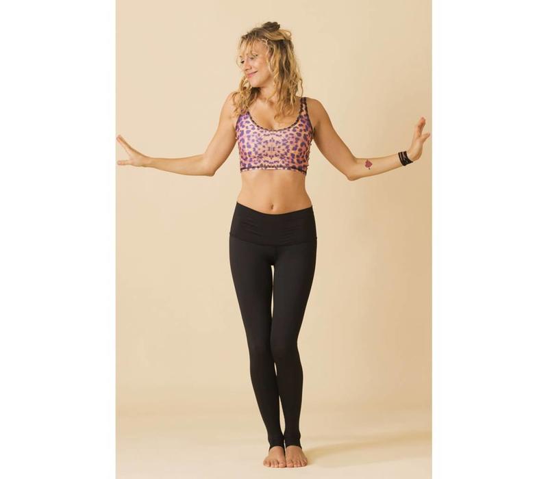 Teeki Yoga Legging - Solid Black