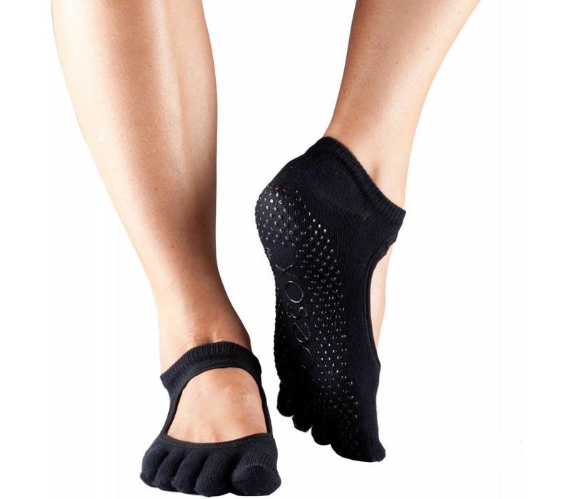 Toesox Bellarina Full Toe - Black