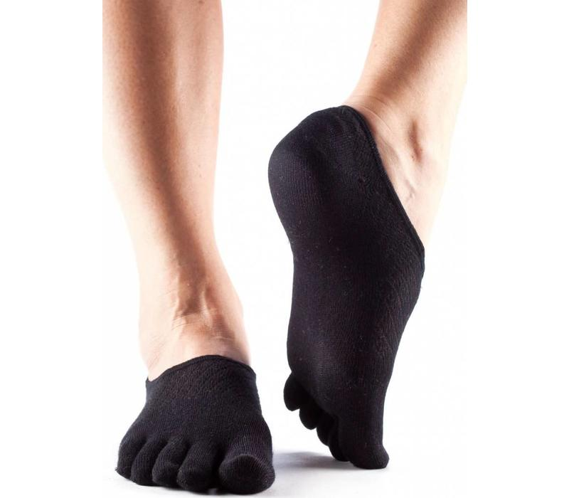 Toesox Casual Dash - Black