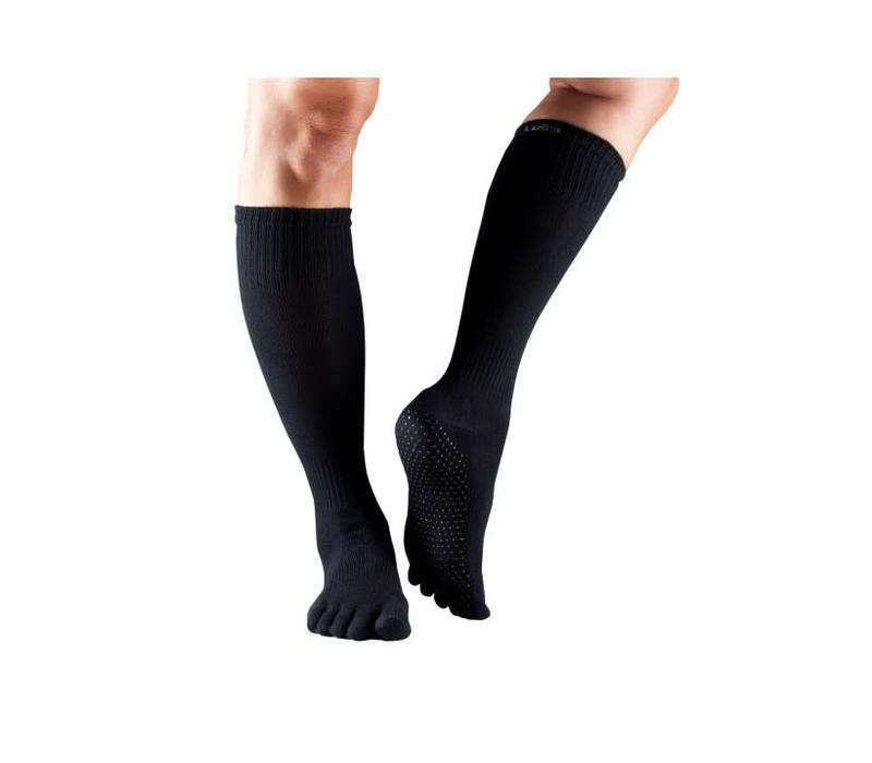 Toesox Knee High Full Toe - Black