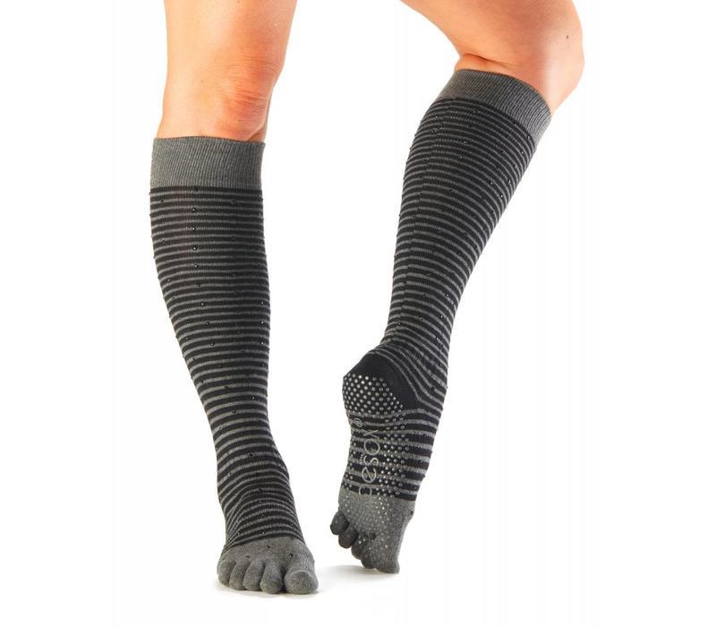 Toesox Knee High Full Toe - Fling
