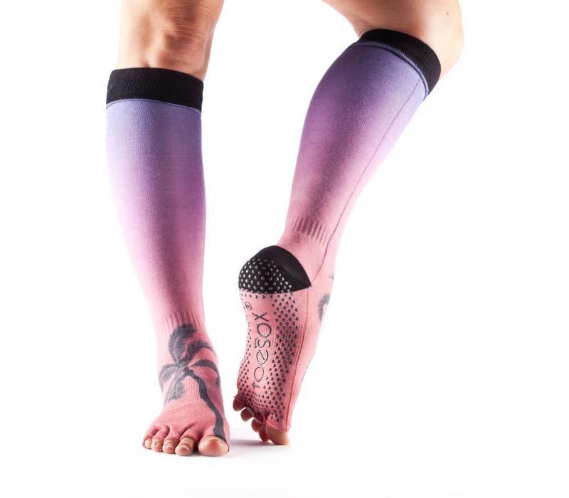 Toesox Yoga Sokken Kniehoogte Open Tenen - Isla