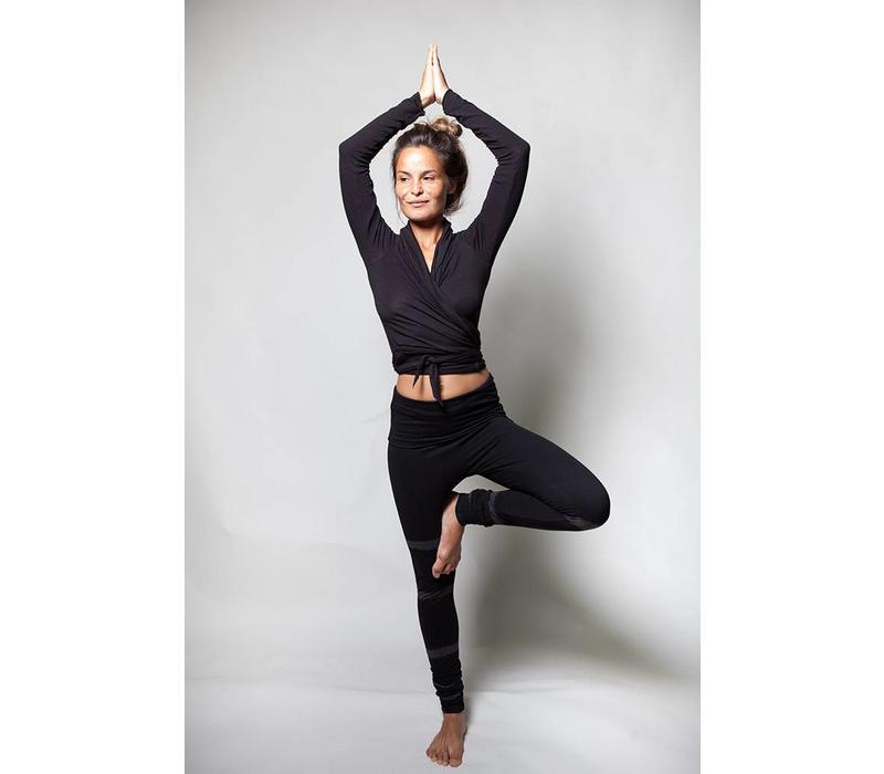 Urban Goddess Shunya Yoga Leggings - Urban Black / Charcoal